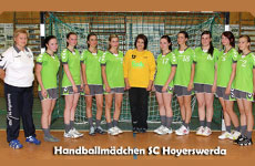 Handballmädchen SC Hoyerswerda